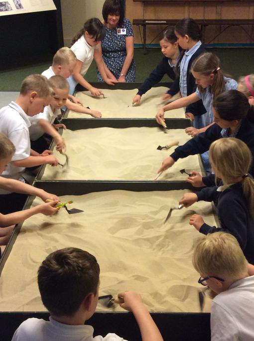 Digging like Archaeologists