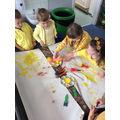 We explored the colour yellow