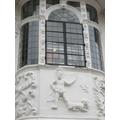 Ancient house plasterwork-Americas