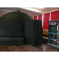 The planetarium dome filled our school hall.