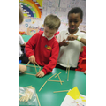 constructing 3D shapes to work out the properties