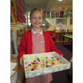 Estimating accurately- the winner of 73 sweets!