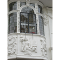 Ancient house plasterwork-Europe