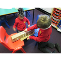 Teamwork- building the strongest bridge together.