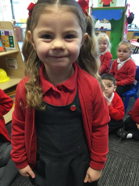 Paisley wore her Red Nose badge.
