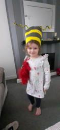 Amelia had lots of fun dressing up!