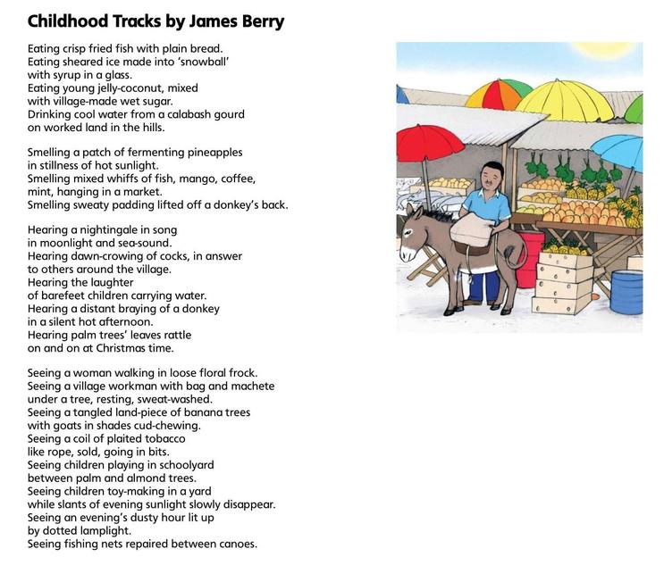 Childhood Tracks by James Berry