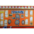 A Literacy display area