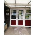Exit Door - Front of the Nursery building