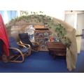 Our reading den