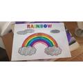 Lilia's rainbow picture