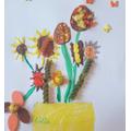Lilia's Van Gogh artwork