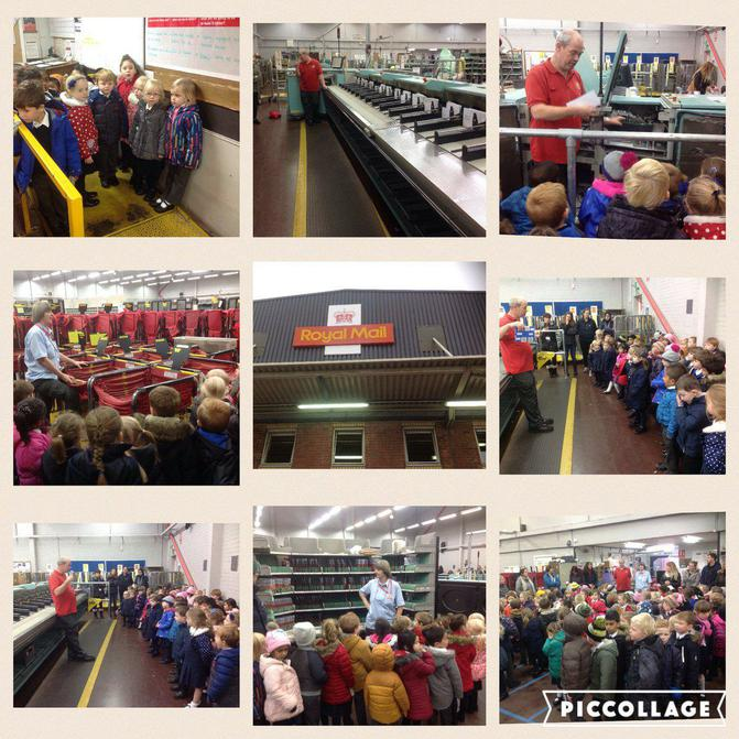 Reception visit Sale sorting office