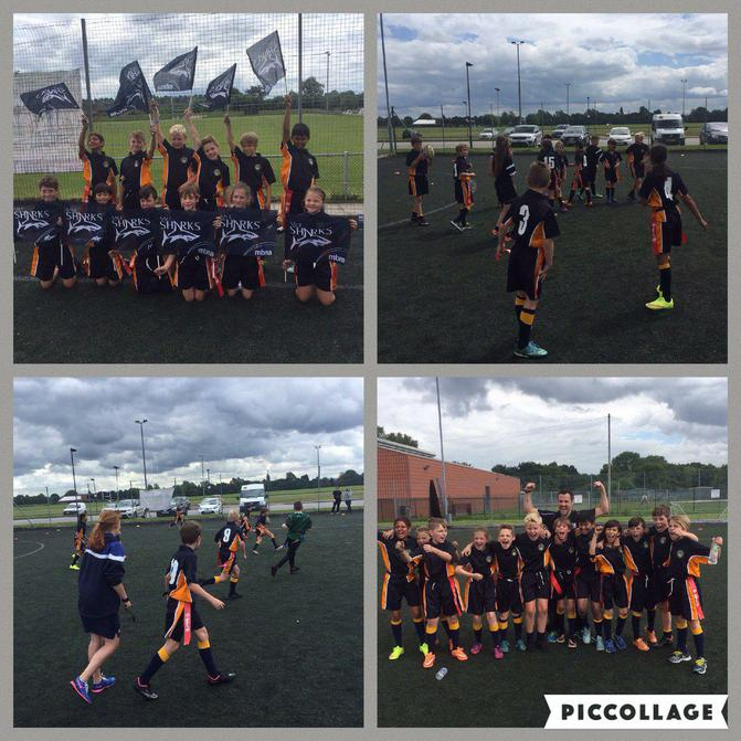 The Tag Rugby Team compete in a local tournament