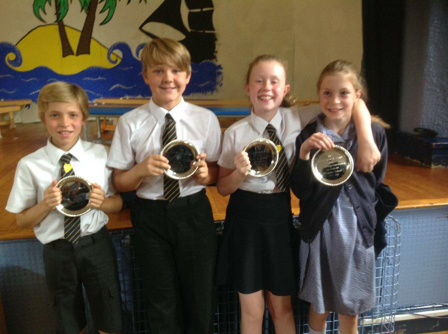 Y6 Winners for Outstanding Contribution to School