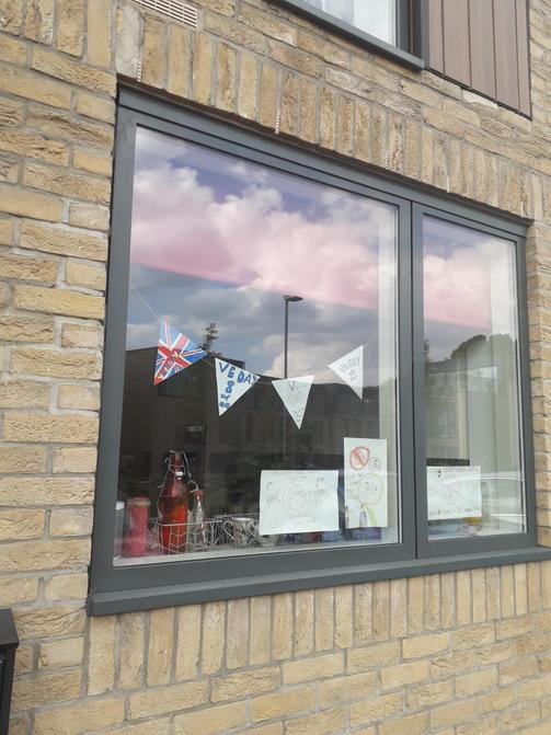 Seth's VE Day bunting
