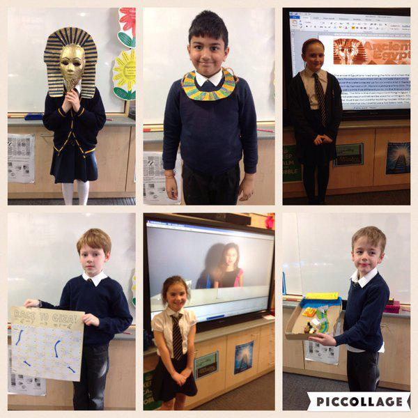Y3 present their learning on the Ancient Egyptians