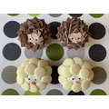 Hedgehog and sheep cupcakes by Mrs James
