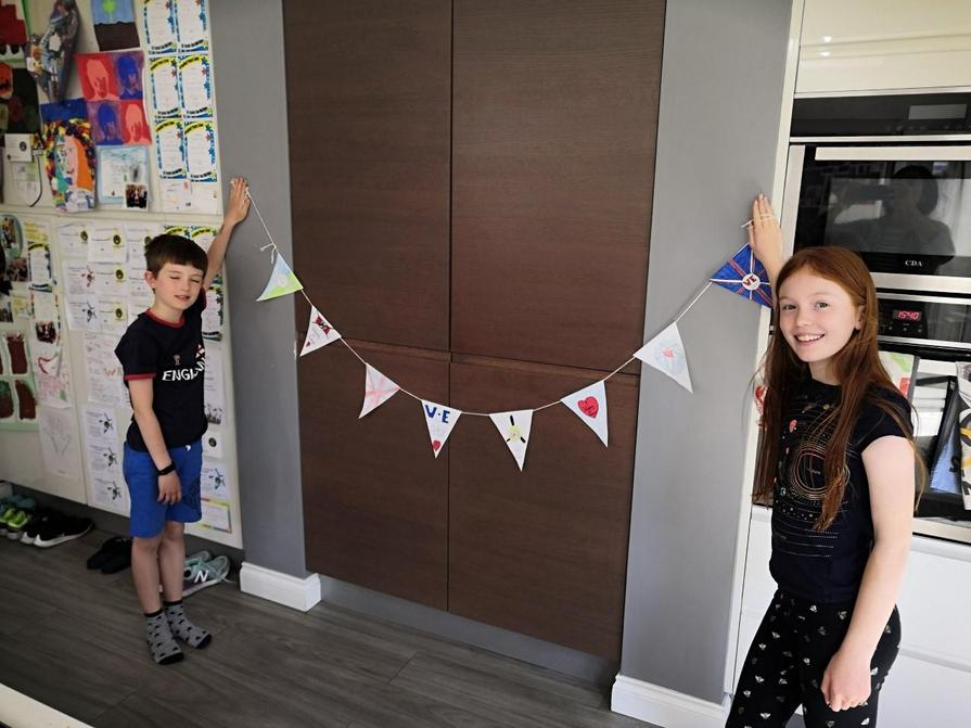 Jess VE Day Bunting