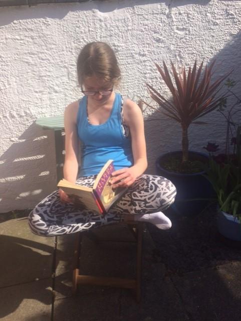 Elena Reading HP
