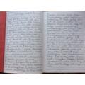 Lola's VE day Diary Extract.