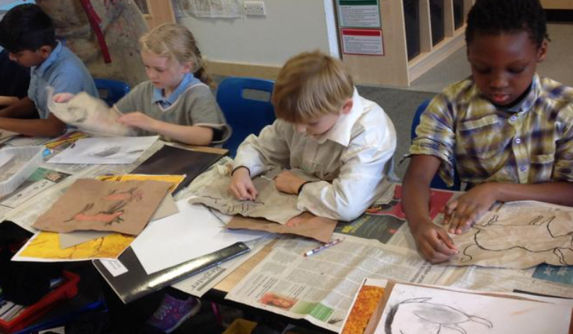 Year 3 - Cave Paintings - Ancient Britain