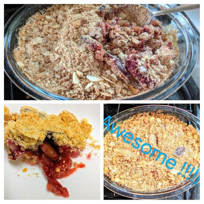 Aamira's Pear Crumble
