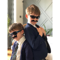 Leo and brother Max ready for school
