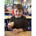 Practising with salt dough