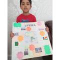 Abdullah's Africa poster