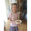 Act of Kindness - Lola preparing snack for her Dad