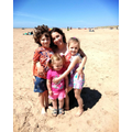 Quinn's Family day trip to the beach