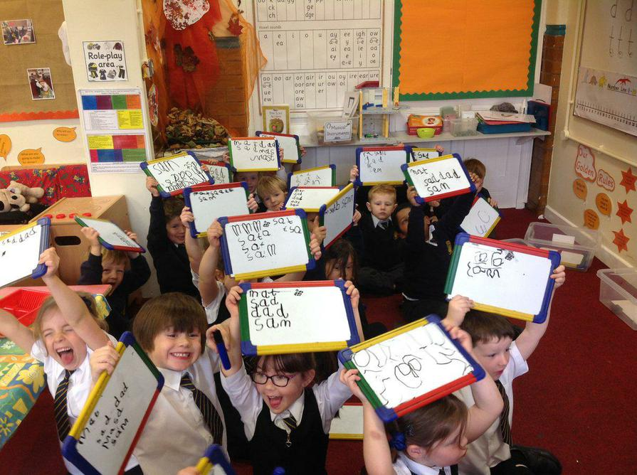 Reception learn phonics with Read Write Inc!