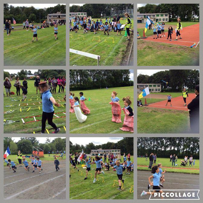 KS1 Sports Day at Crossford Bridge