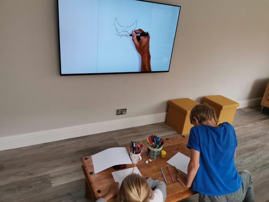 Lucas drawing tutorial