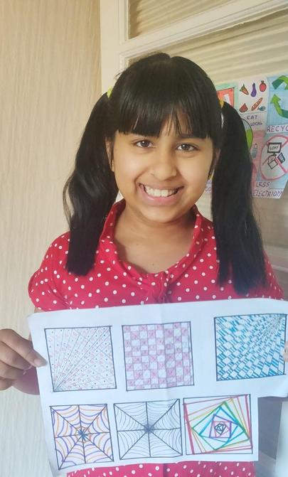 Sharanya's Zentangle Patterns