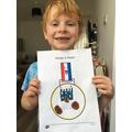 Thomas's VE medal design