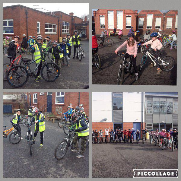 Y6 complete their Bike Ability course