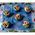 Rainbow Fish cakes by Mrs Gresty