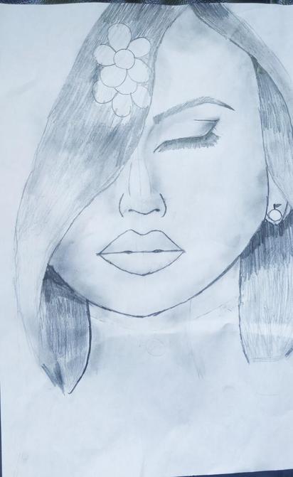 Sharanya's portrait Art