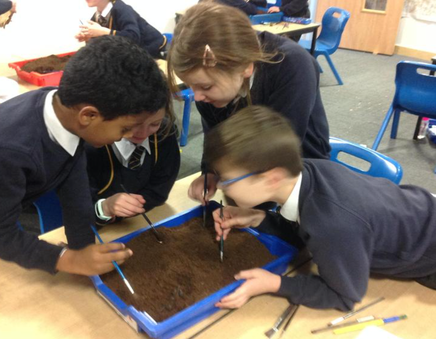 Year 3 being archaeologists!