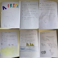 Betsy's informative Africa booklet.