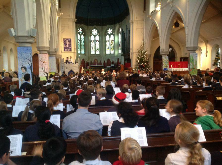 The Christmas Carol Service at St Pauls Sale