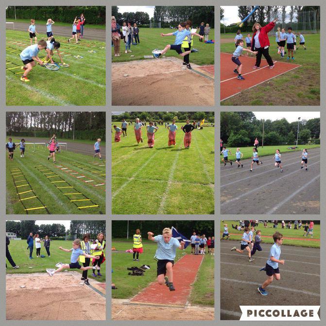 KS2 Sports Day at Crossford Bridge