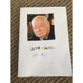 Hugo's Winston Churchill information booklet