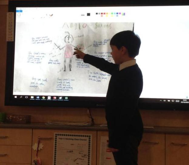 Year 5 Anglo-Saxon Homework presentations
