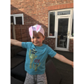 William and Alfie's fantastic Easter Bunny Bonnet!!