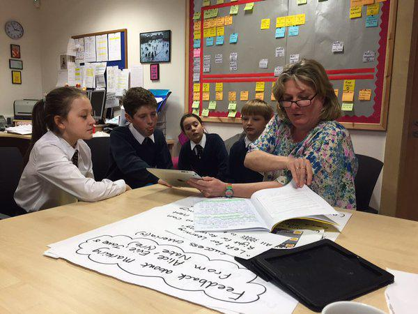 Mrs Chard consults children on policies