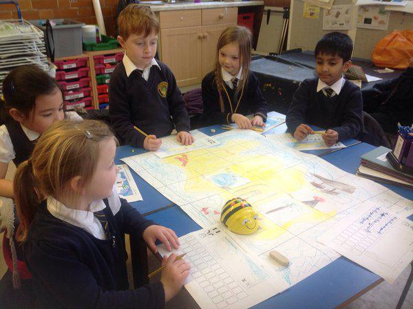 Y1 problem solve with BeeBots
