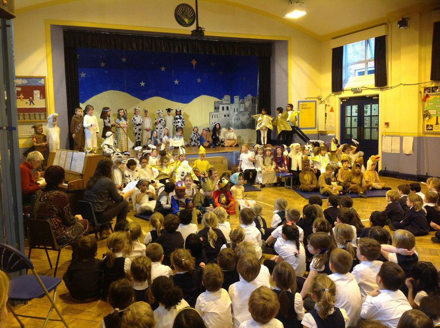 Christmas Nativities by Nursery, Rec, Y1 and Y2
